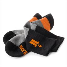 Scruffs Trade Socks pack of 3 pairs