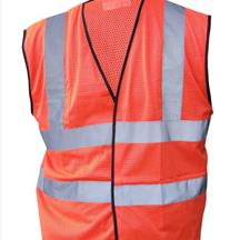 Hi Vis Mesh Vest Orange