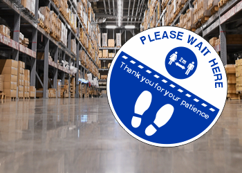 Covid Anti-Slip Floor Stickers