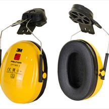 3M Peltor Optime 1 Helmet Attachment Ear Defenders SNR 26