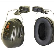 3M Peltor Optime 2 Helmet Attachment Ear Defenders SNR 31