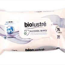 Biolustre Alcohol Wipes pack of 72