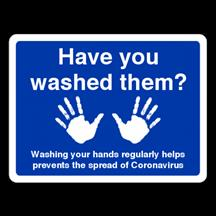 Have You Washed Your Hands Sign