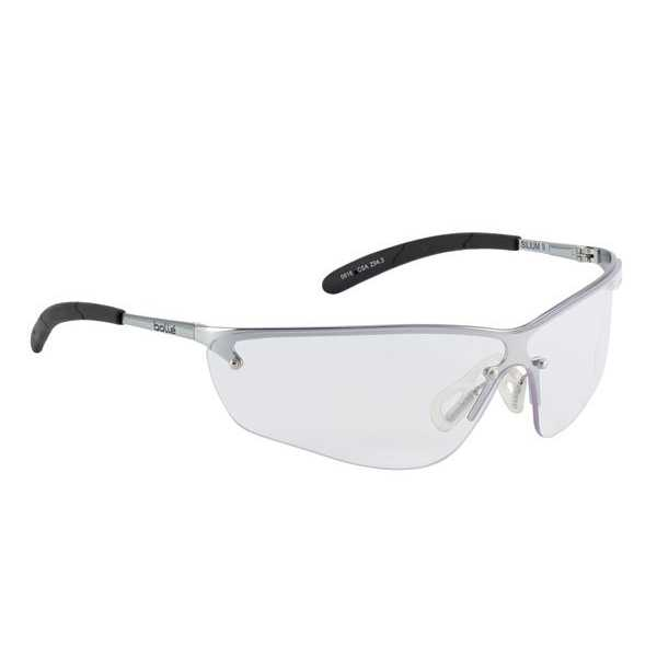 Bolle Silium Clear or Smoke Metal Frame Safety Spectacle pack of 10