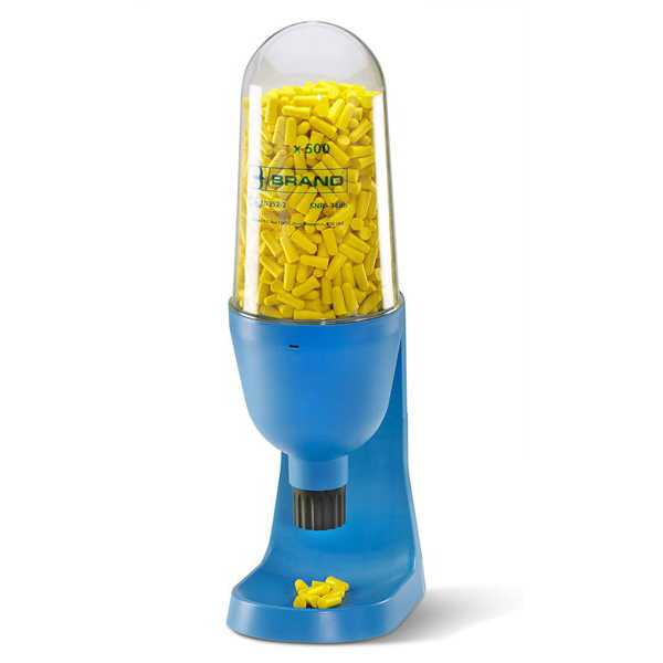 Ear Plug Dispenser with 500 pairs of ear plugs BBEP500DS