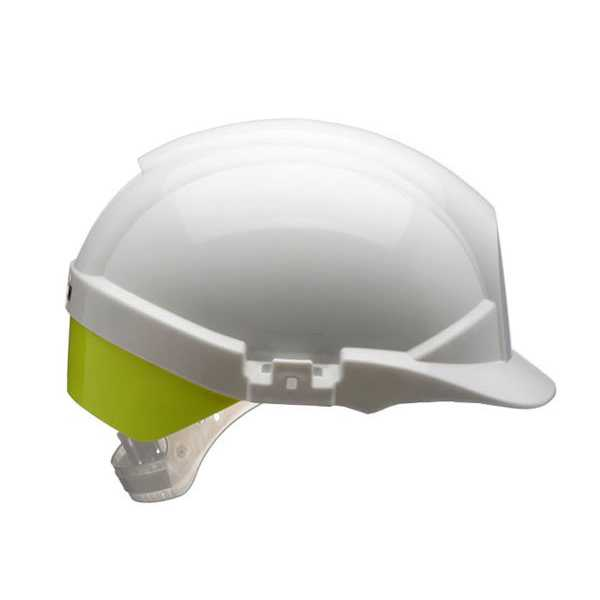 Centurion Reflex Safety Helmet White c/w Rear Flash CNS12WHV