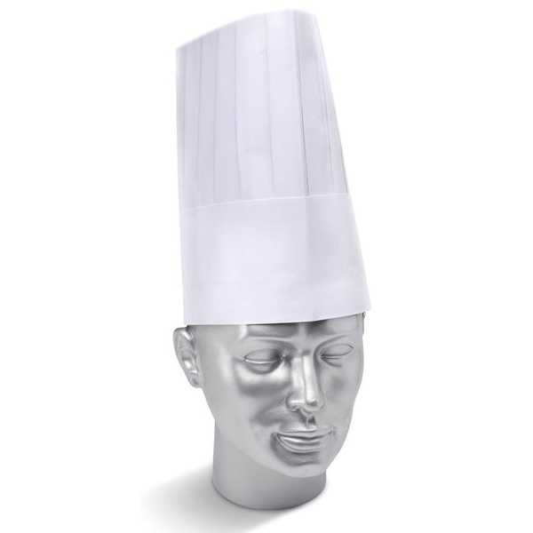 Disposable Chef's Hat pack of 10 DCH9W