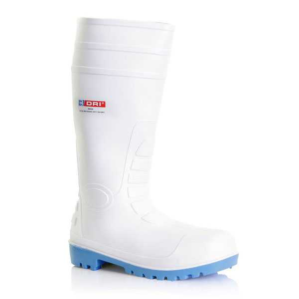 PVC Safety Boot S4 White BBSW