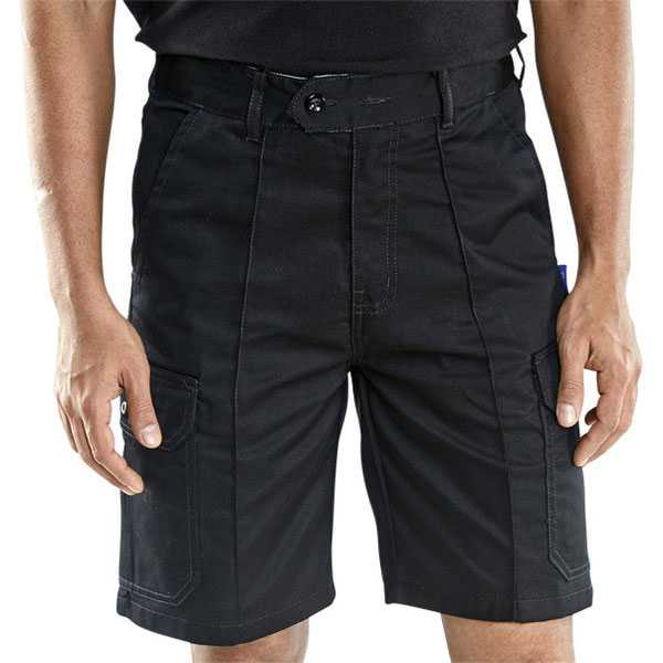 Cargo Pocket Shorts Black or Navy CLCPS