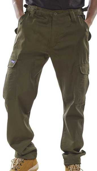 Combat Trousers Olive PCCTO