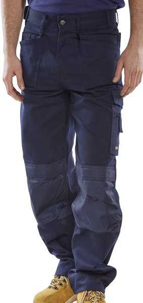 Premium Multi-Pocket Trousers Black or Navy Regular or Tall Leg CPMPT