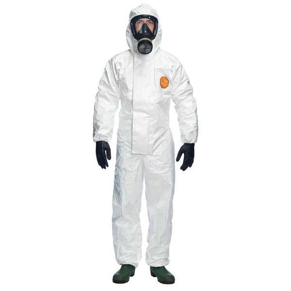 TYCHEM 4000S CHZ5 Coverall White TY4000BS