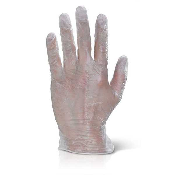 Vinyl Disposable Gloves Clear box of 1000 VDG
