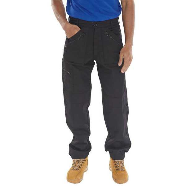 Action Work Trousers Black Navy or Grey AWT