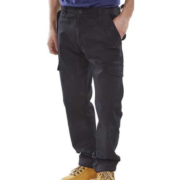 Combat Trousers Black PCCTBL