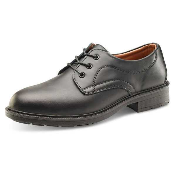 Managers Safety Shoe Black sizes 05-12 SW2010