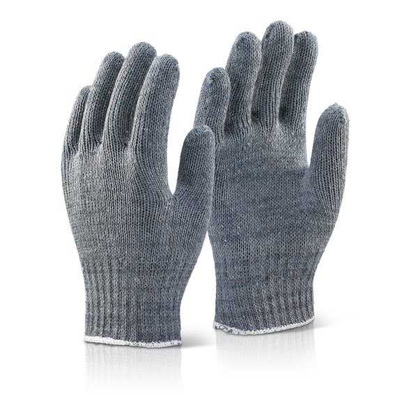 Mixed Fibre Gloves Grey pack of 240 pairs MFGNGY