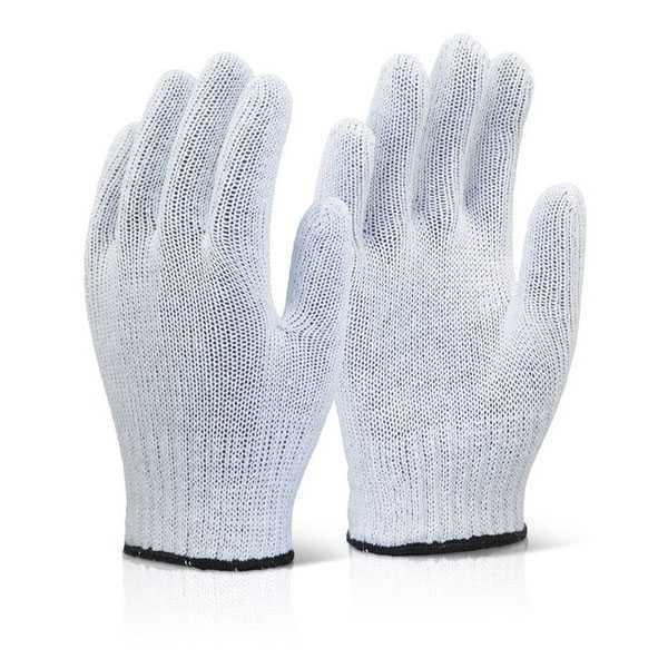 Mixed Fibre Gloves White pack of 240 pairs MFGLW
