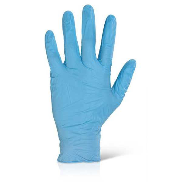 Nitrile Disposable Gloves Powder Free Blue pack of 1000 NDGPF