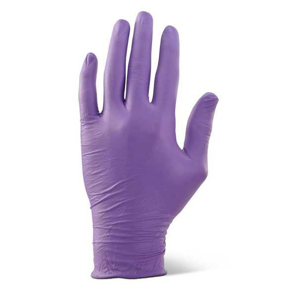 Nitrile Disposable Gloves Powder Free Purple pack of 1000 NDGPFPU