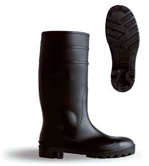 PVC Safety Boot S5 Black BBSSB