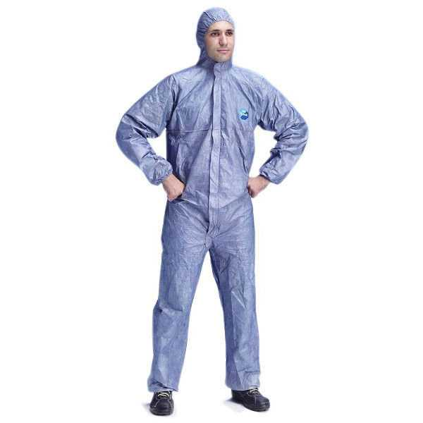 Tyvek Classic Xpert Coverall Blue pack of 25 TBSHB