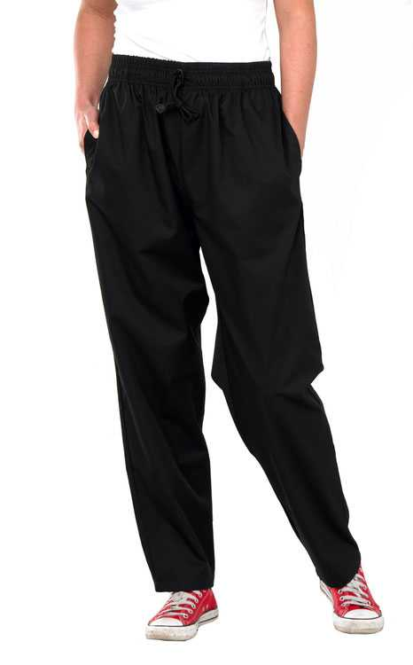 Chefs Trousers Black or Checked Black/White or Checked Navy/White CCCT