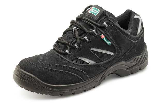 Trainer Safety Shoe Dual Density Black Small & Large Sizes 03-13 CDDTBBL