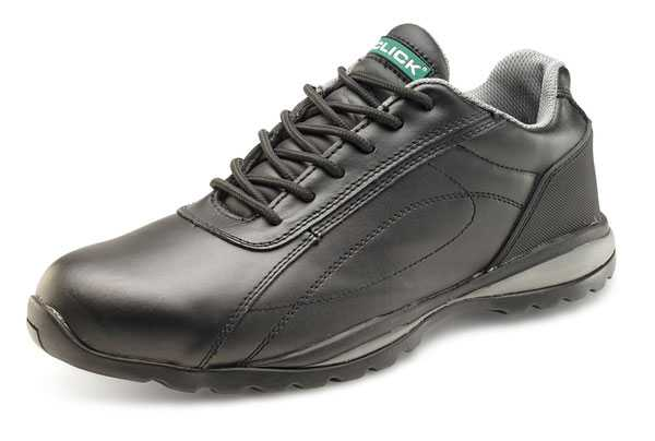 Dual Density Trainer Safety Shoe Black sizes 03-1 CF7BL