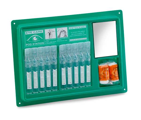 Eye Wash Pod Station (10x20ml) CM0715