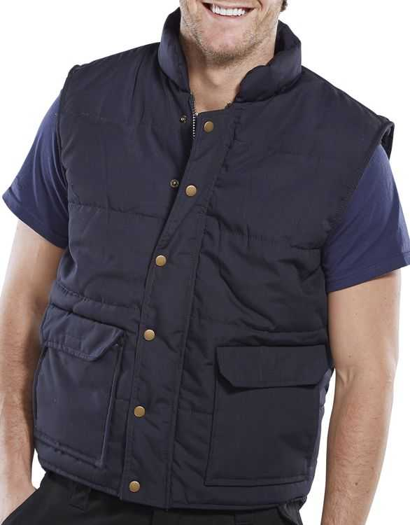 Quebec Quilted Bodywarmer Navy