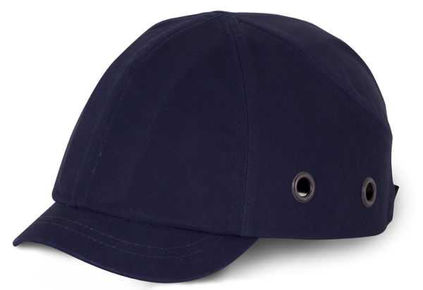 Short Peak Safety Baseball Cap Navy