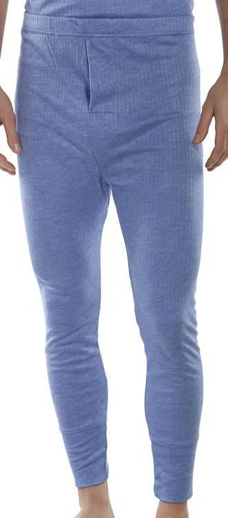 Thermal Long John Trousers Blue or White THLJ
