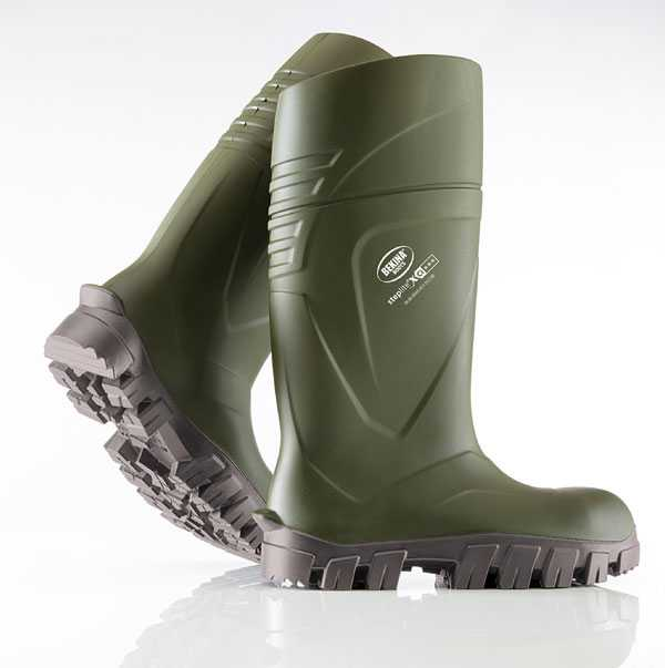 Bekina Steplite XCI Full Safety Wellingtons Non-Metallic Green BNXC