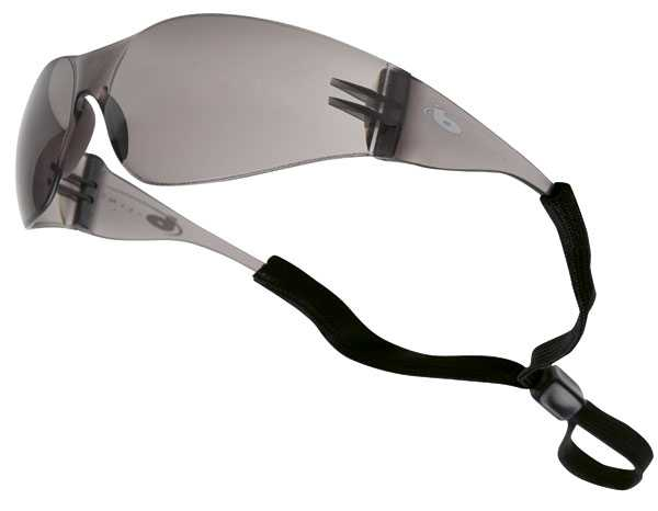 Bolle B-Line BL10CF PC Frame Smoke Safety Glasses pack of 10