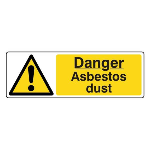 Danger - Asbestos Dust