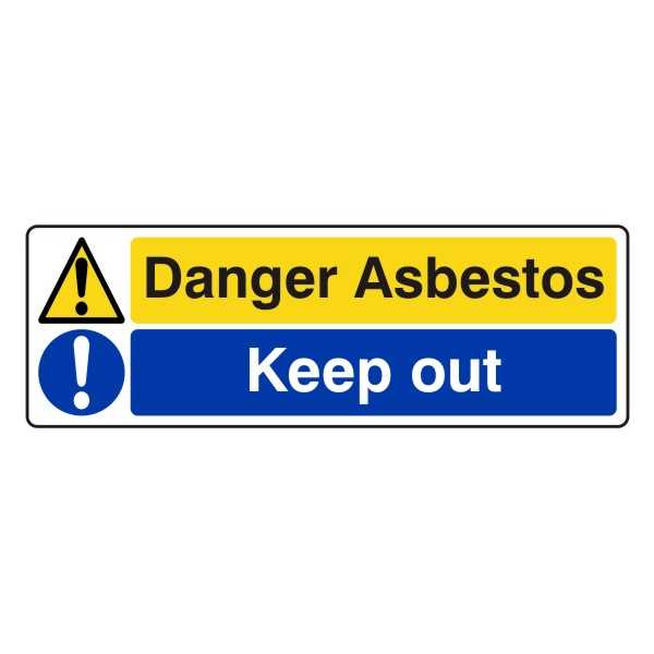 Danger Asbestos - Keep Out