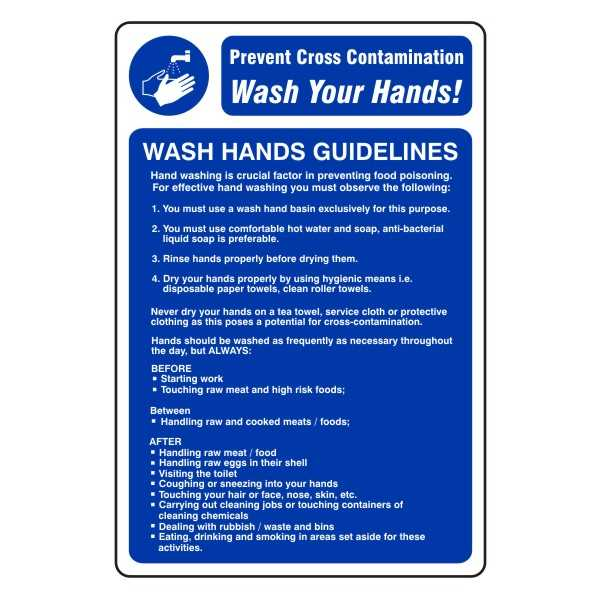 WASH HANDS GUIDELINES