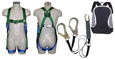 Safety Harness Kit with Twin Shock Absorbing Lanyard AB20LTW