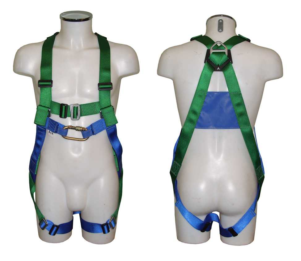 Two Point Fully Adjustable Safety Harness with Soft Loop Attachment Point AB20SL