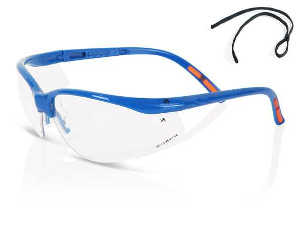 Clear Lens Safety Specs ZZ0010