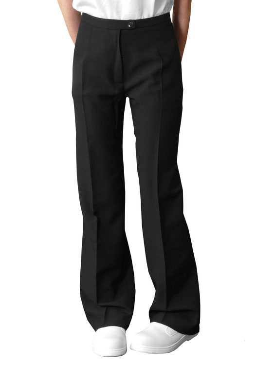 Ladies Trousers Black Regular or Tall